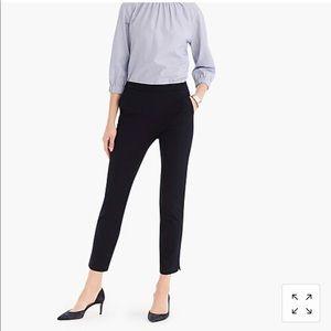 NWT J.Crew Slim Fit Crop pant in bi stretch cotton
